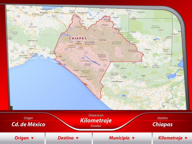 Fletes a Chiapas