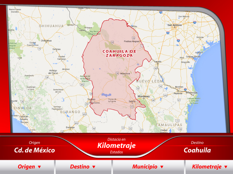 Fletes a Coahuila