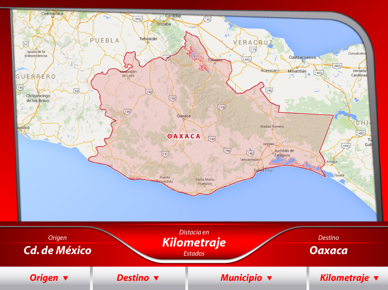Fletes a Oaxaca