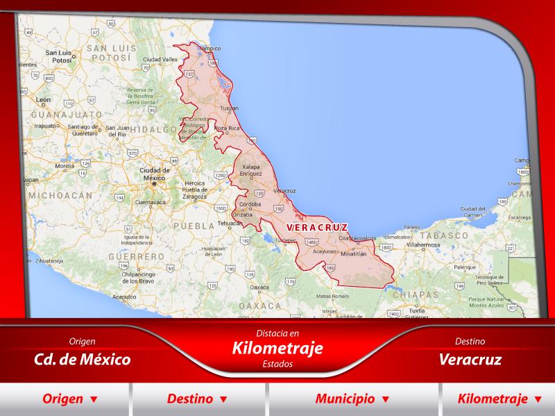 Fletes a Veracruz